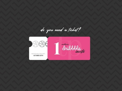 Do you need a Dribbble invite?