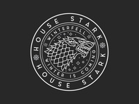 House Stark Badge