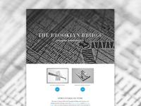Brooklyn Bridge microsite