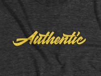The 'Authentic' Tee