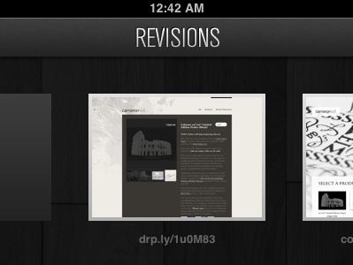 Revisions tvnordcond woodgrain black ipad