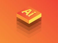 Adobe Illustrator Isometric Logo