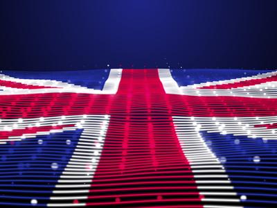 Digital Flag of UK