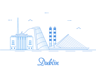 Dublin Illustration Sketch App illustration dublin line sketch app sketch
