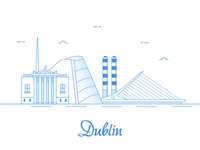 Dublin Illustration Sketch App