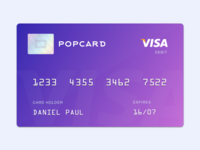 Custom Branded Bank Card