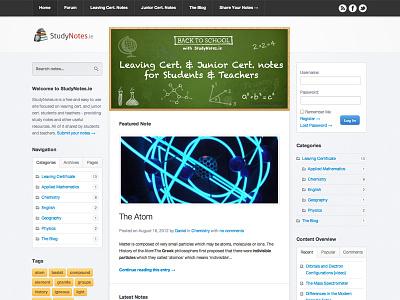 StudyNotes.ie study educational blue green chalk