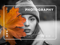 Photography Agency UI Concept