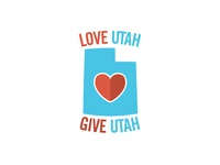 Love Utah Give Utah Logo