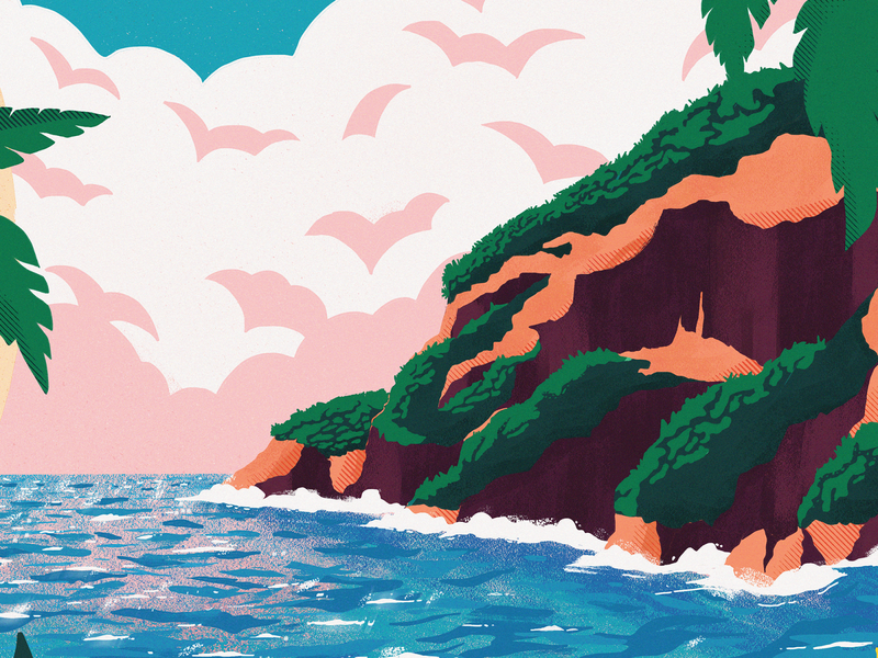 Bigger Picture Show 2020 teaser texture illustration