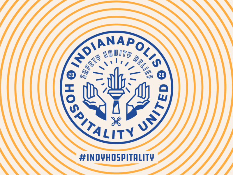 Indy Hospitality United midwest badge