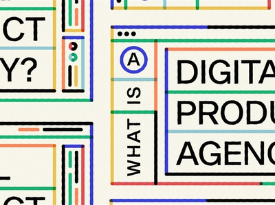 What is a Digital Product Agency? editorial illustration