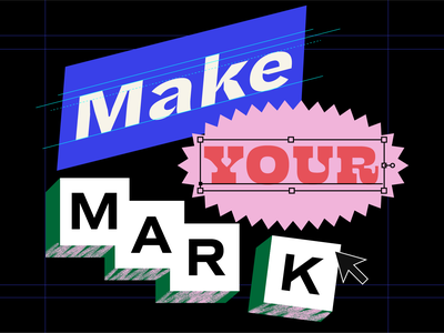 AIGA Indy + Innovatemap: Make Your Mark aiga event branding type event