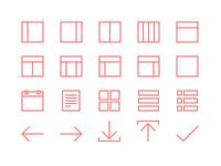 20 Line Icons