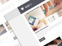 Gusto Email Theme