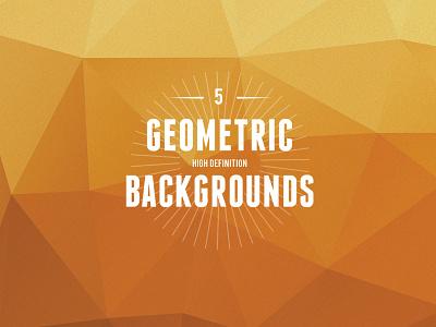 5 High Definition Geometric Backgrounds geometric freebie ai jpg background texture pattern vector shapes