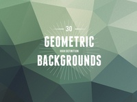 30 High Resolution Geometric Backgrounds
