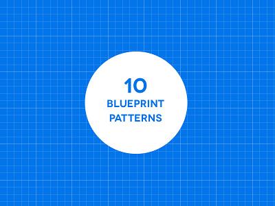 10 Seamless Blueprint Patterns freebie pattern background texture grid blueprint pat jpg