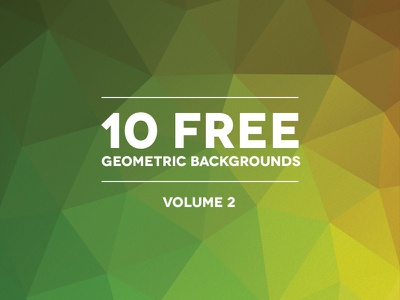 Geometric Backgrounds Volume 2 freebie psddd geometric backgrounds texture polygonal abstract vector