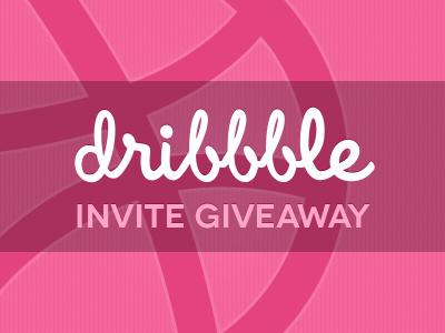 Dribbble invite contest