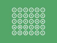 36 Circle Icons