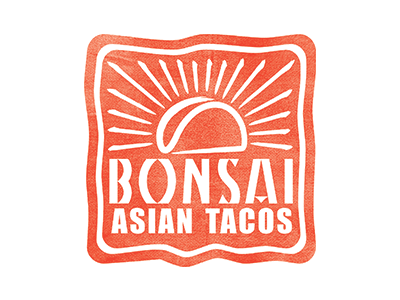Bonsai Asian Tacos Logo By Reagan M Hicks On Dribbble