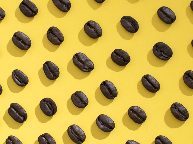 Coffee Bean Pattern coffee pattern photography