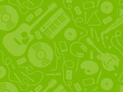 Music & Art Pattern