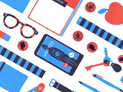 Desk Pattern workspace swiss apple iphone british texture overlay blue red pattern desk