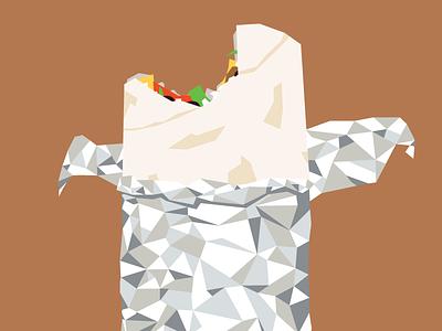 Burrito burrito illustration