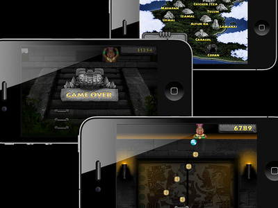 Mayan Madness for iOS ui interaction design ux games ios