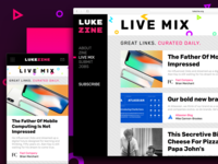 LUKE-ZINE: Online Newsletter/Curated News Feed
