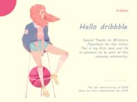 Dribbble Debuts