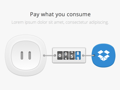 Pay what you consume