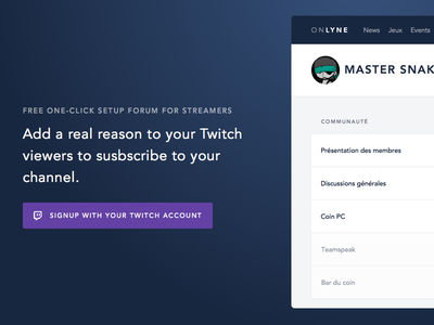 Twitch Forum for streamers forum twitch
