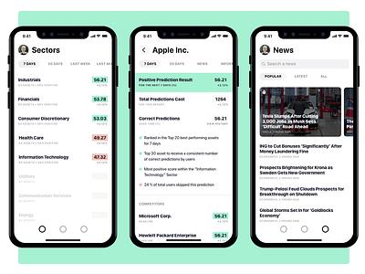 Sharpe GSI App for iOS fintech blockchain ios