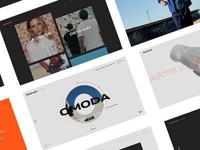 Clockwork Agency Rebranding logo uiux ui motion animation digital redesign rebranding