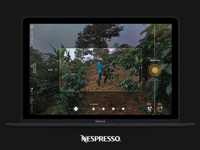 Nespresso nespresso vr 360 gold art direction campaign motion web design design