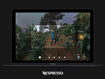 Nespresso nespresso vr 360 gold art direction campaign motion web design design
