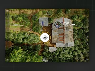 Nespresso Indonesia interactive film illustration webdesign design 360 experience nespresso campain website drone