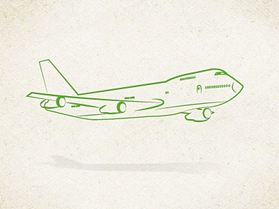Airplane paper flying airplane design lines illustration line texture