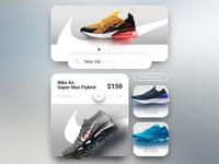 Nike Shop - UI/UX E-Commerce Mobile Site