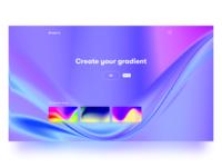 Gradient UI Concept