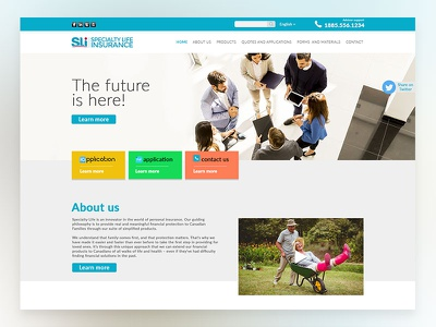Specialty Life Insurance Ui And Ux Design seniors website specialty life user experience insurance website design