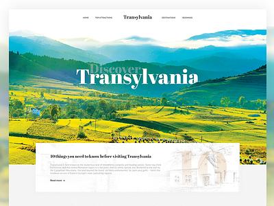 Discover Transylvania romania turism travelling website discover transylvania