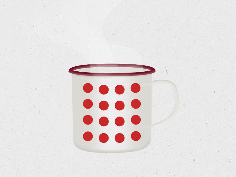 The Mug hot coffee cana romaneasca mug design cana metalica