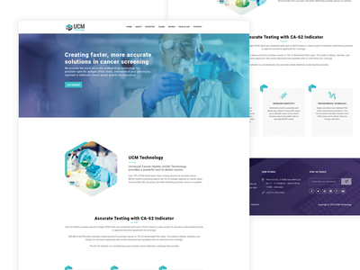 Biotech Website biotech landingpage bio tech design biotech website