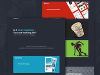 Portfolio art direction digital black website user interface portfolio user experience portfolio digital portfolio