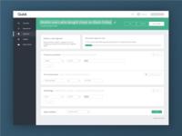 Segment builder UI