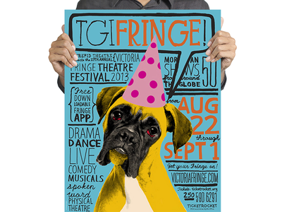Victoria Fringe Festival 2013 poster poster rayola intrepid theatre fringe festival victoria canada